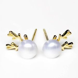 uv σκουλαρίκια μαργαριταριών