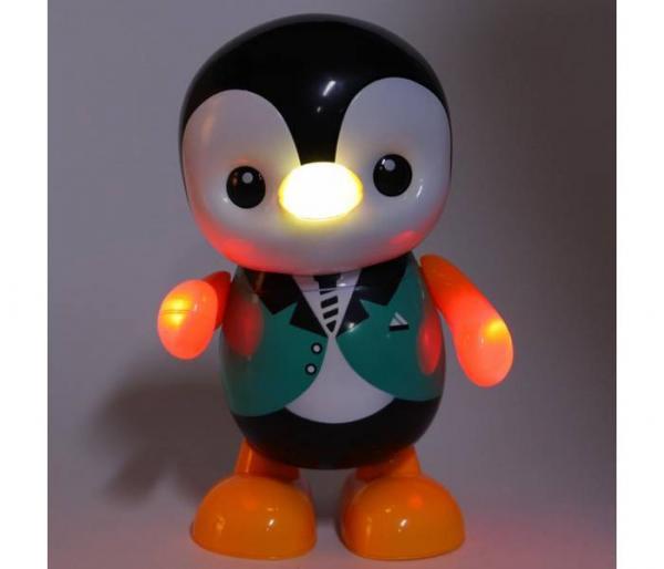 μουσικό παιχνίδι πιγκουίνος φως led