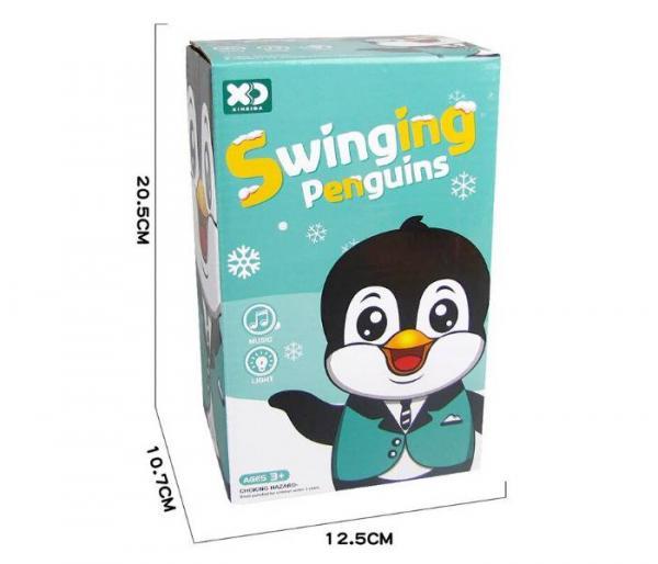 μουσικό παιχνίδι πιγκουίνος συσκευασία
