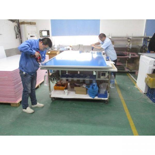 διαδραστικός πίνακας πολλαπλής αφής διαδικασία κατασκευής