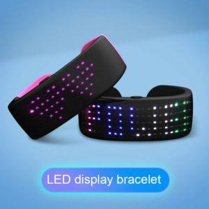 Βραχιόλι LED φουτουριστικό - φωτογραφία του προϊόντος