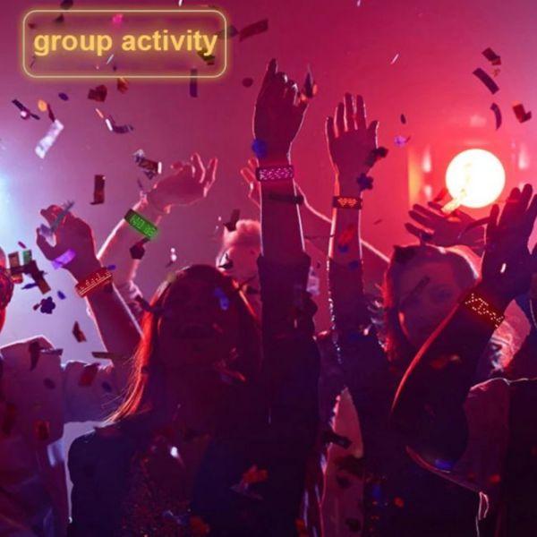 Βραχιόλι LED φουτουριστικό - το απόλυτο must για πάρτι