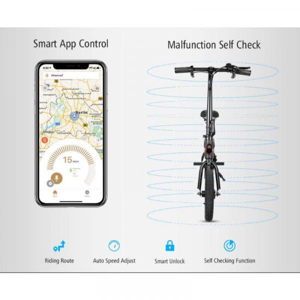 KUGOO B1 Ηλεκτρικό Ποδήλατο - εφαρμογή κινητού