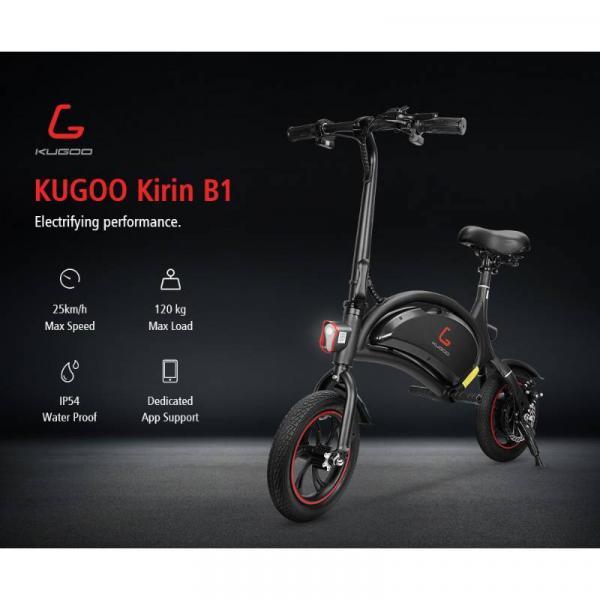 KUGOO B1 Ηλεκτρικό Ποδήλατο - προδιαγραφές