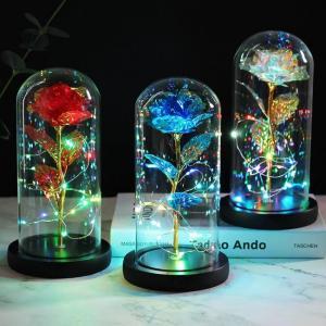 τριαντάφυλλο λάμπα LED που αναβοσβήνει - πολλά σχέδια