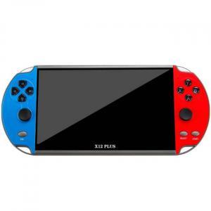 κόκκινη και ισχυρή κονσόλα παιχνιδιών χειρός που υποστηρίζει παιχνίδια PS1 και SNES