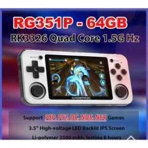 φορητή κονσόλα παιχνιδιών με παιχνίδια PS1 και N64 και μεγάλη χωρητικότητα μνήμης