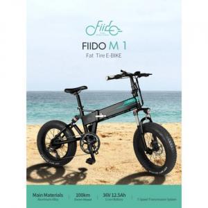 Ηλεκτρικό ποδήλατο Fiido M1 με μεγάλα ελαστικά και μεγάλη αυτονομία