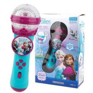 Frozen 2 Φορητό Στερεοφωνικό Μικρόφωνο Karaoke με Μουσική - Συσκευασία