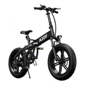 ηλεκτρικό ποδήλατο με μεγάλα ελαστικά και μεγάλη απόσταση σε χιλιόμετρα